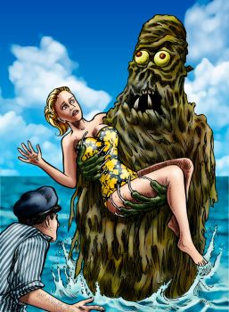 Creature From The Haunted Sea by Loneanimator