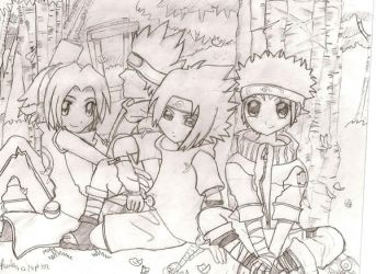 Naruto: All together by pualidragon12