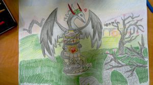Dragon city- Phaun's tower. by Shantifiy