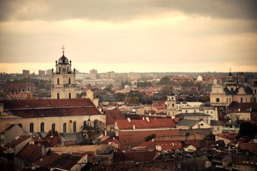 Cityscape of Vilnius by 5o5