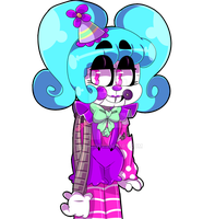 random FNaF clown Fc by Cibuu