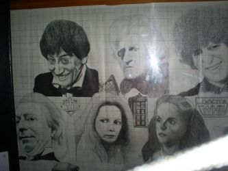 Classic doctor who drawing by Foxy-Knight