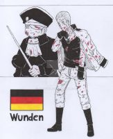 aph germany wunden by alpha89
