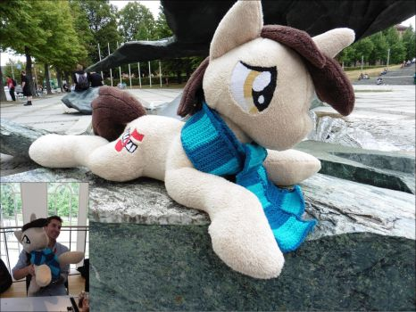 Daniel Ingram OC Plushie - so huge by wwwpat