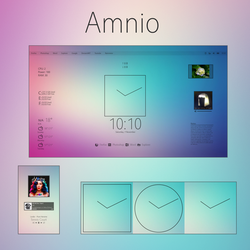 Amnio (for Rainmeter) by JosephB2000