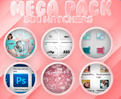 Mega Pack 3OO Watchers | G R A C I A S by SabDesings
