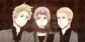 [APH] - The Beer Brothers by Shiunee