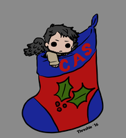 Holiday Dot Cas by Threshie