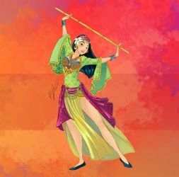Disney Belly Dancers: Ritmo Saidi by Blatterbury