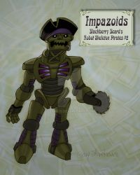 Capt Blackberry Beard's Robot Skeleton Pirates #2 by Stnk13