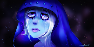blue diamond by CosmicPonye