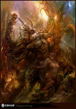 Demon of hell by derrickSong