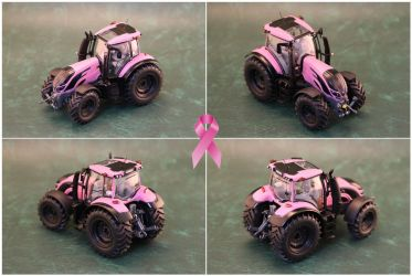 Breast Cancer Pink Tractor. by Joker-laugh