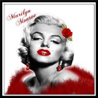 Marilyn Monroe by AngelMoon17