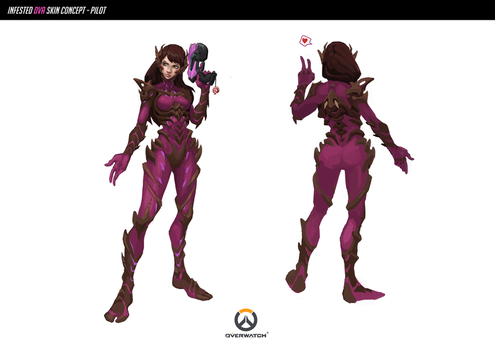 Infested Dva Skin Concept  by Neexz