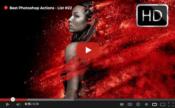 Top Photoshop Actions [ Youtube] List #22 by hemalaya