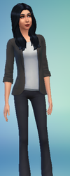 Pauline Greyson In Sims 4 by TheOneAndOnly-K