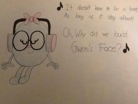 TMMS: Miss Whoops listens to Gwen's Face by Strongcheetah24