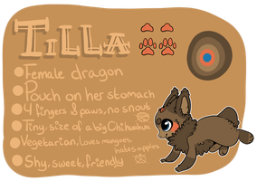 New Tilla ref! c: by KittyFap