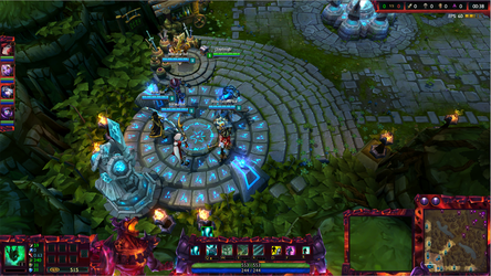 Infernal Nasus League of Legends Overlay by Melificence