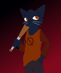 Mae (Night in the Woods) by Sozanek