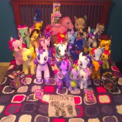 My 2018 My Little Pony collection by Encorepride