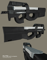 FN P-90 by t17dr