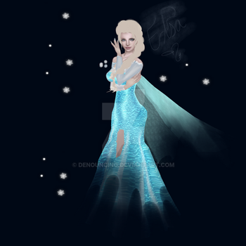 Elsa The Snow Queen~ by Denouncing
