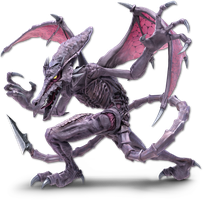 Super Smash Bros. Ultimate - 65. Ridley by pokemonabsol