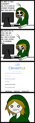 BEN vs. Cleverbot by Anipartom