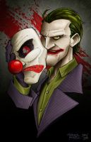 Behind the Mask by dmvcomics