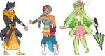 Pokejinka Adopts 1 [MEGANIUM-OPEN] by ForeverTired