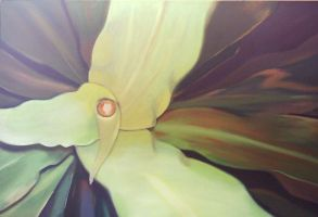 pLant observation painting by traseone