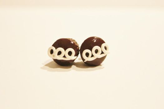 Hostess Cupcake Earrings by CharmStop