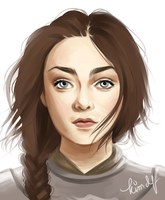 Older Arya by kimpertinent
