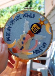 Mercury Crystal Power, Make Up! by RainOwls