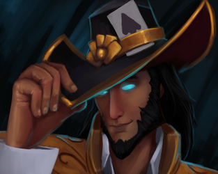 Twisted Fate for Veperine by ultema