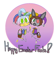 A Easter Fools Day Special by ArtisticAsianBunny