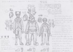 TStaC- Butcher Gang Reference by Cake-a-Tron