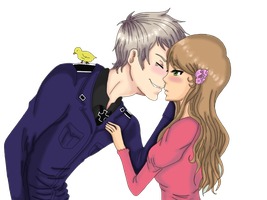APH-Let me share an awesome kiss with you by Mira-chii