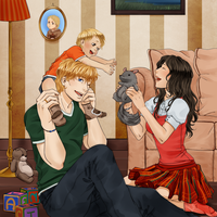 COMMISSION - Family by ElyonBlackStar