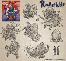 Rocketwolf Character Sheet by TheInsaneDingo