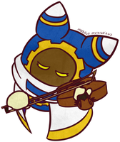 [Kirby] Magolor Violin Color by Cascade-Kirby
