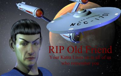 Spock RIP by jaguarry3