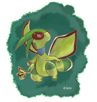 Zen The Flygon by Erladino