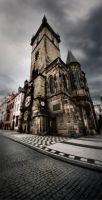 vertical Prague by almiller