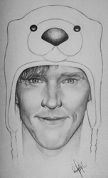 Benedict Cumberbatch by RonjaKnippers