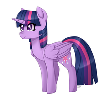 Twilight Sparkle (MLP STYLE) by Roieen