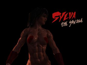 Desktop Background Sylva the Savage from comic 6 by SavageSylva