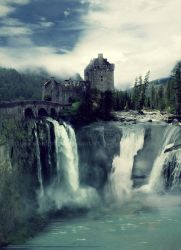 Castle Falls by InToXiCaTeD-MiNd